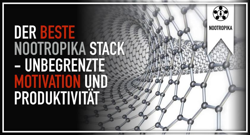 Der beste Nootropika Stack - Unbegrenzte Motivation und Produktivität.001