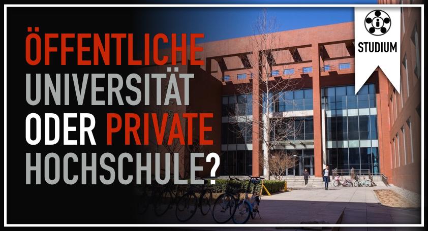 Öffentliche Universität oder private Hochschule?.001